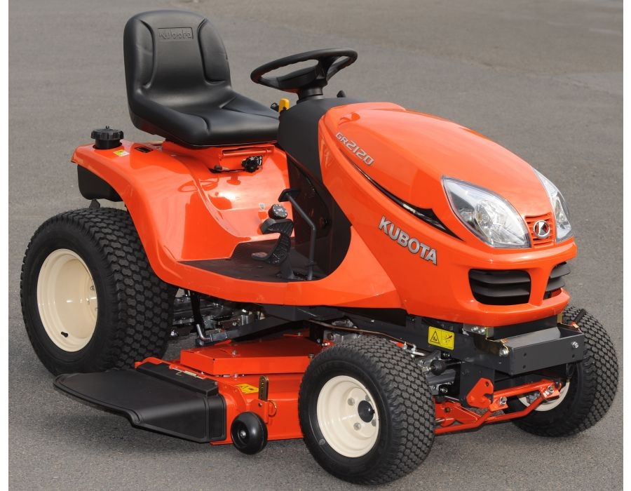 kubota 21hp diesel gr2120 lawn and garden tractor lawn. Black Bedroom Furniture Sets. Home Design Ideas