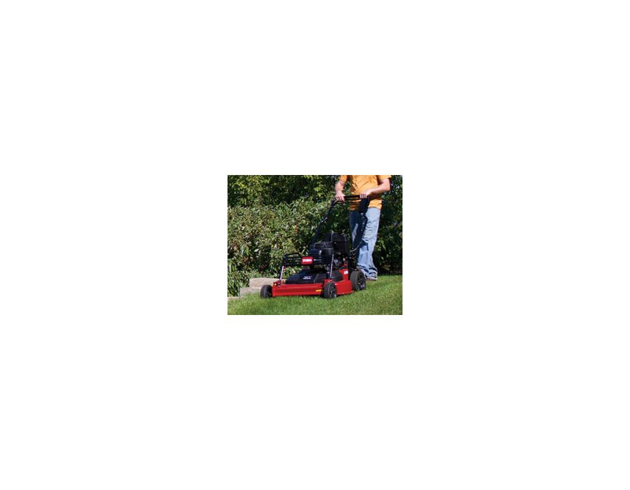Deck skid plates, tough sealed transmission and a strong one-piece handle are designed for the demands of commercial mowing.