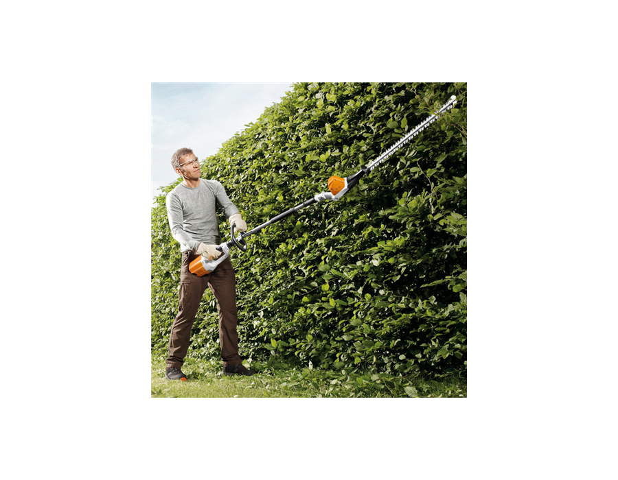 The STIHL HLA 65 in action