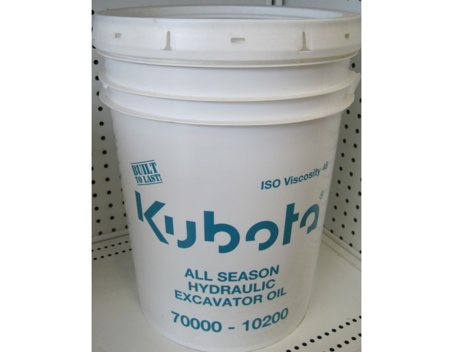 Kubota Excavator oil