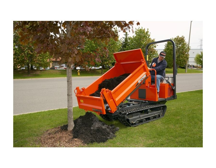 Kubota KC120HC-4 3 way hydraulic dumping
