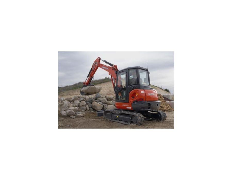 KX057-4 Kubota excavator