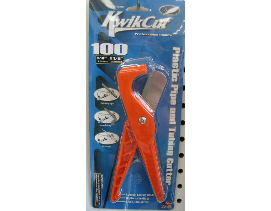 Kwikcut plastic pipe and tubing cutter T135