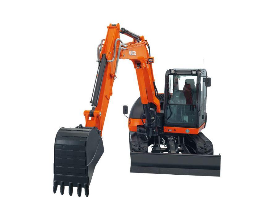Kubota KX080-4W Excavator