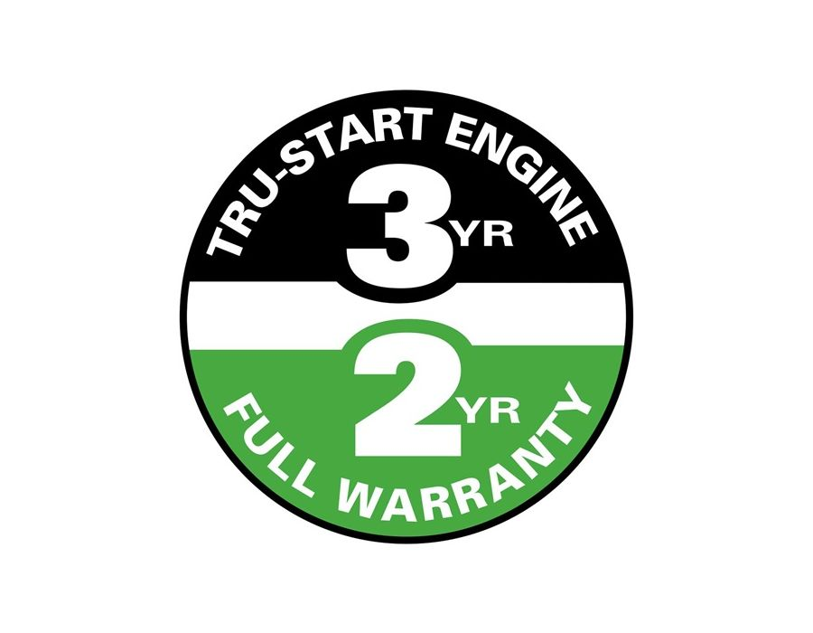 Starting, Power, Parts are all covered under Lawn-Boy's 2-Year Complete Coverage warranty. See your dealer for warranty details.