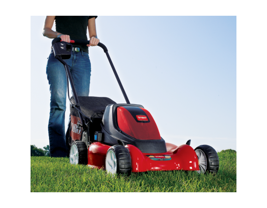 Weighs only 77 lbs (35 kg) - lighter than most other battery/cordless mowers