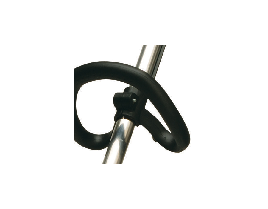 Adjustable front handle - The front handle is easily adjustable (360-degree rotation) for comfort.