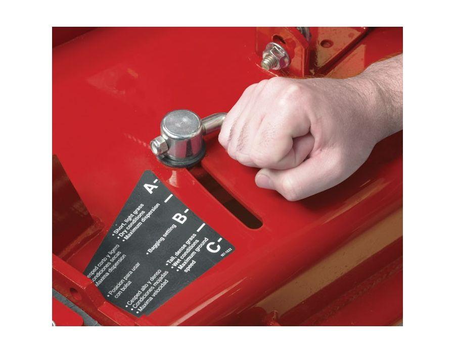 patented adjustable baffle