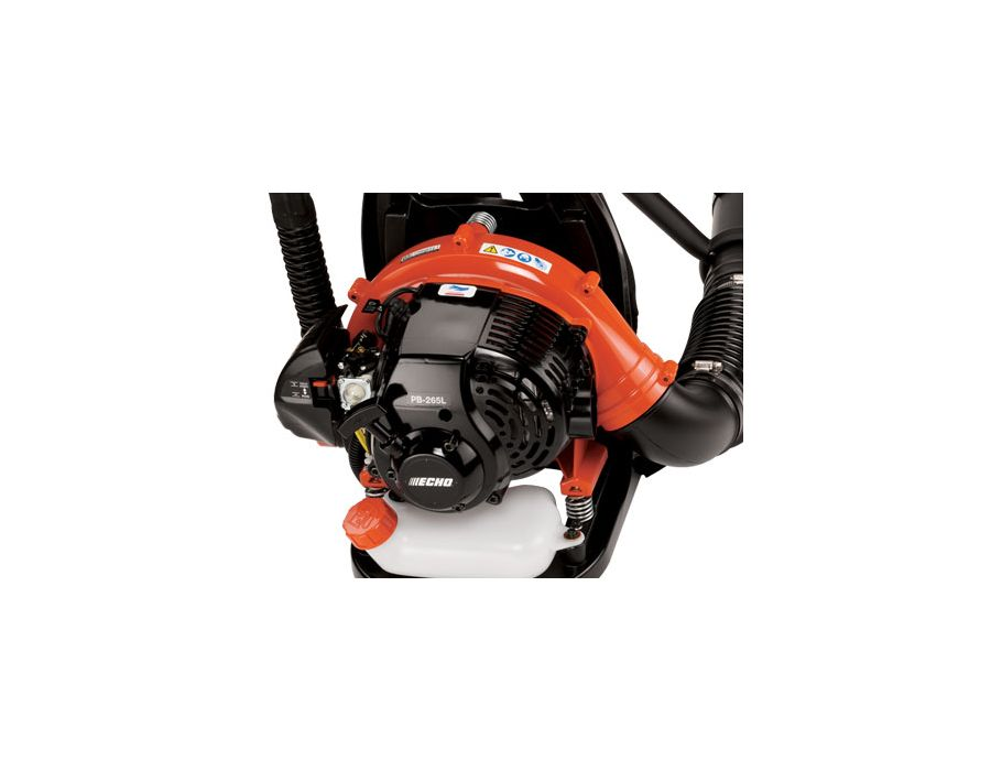 Echo PB-265LN Backpack Blower with hip mounted throttle shown down