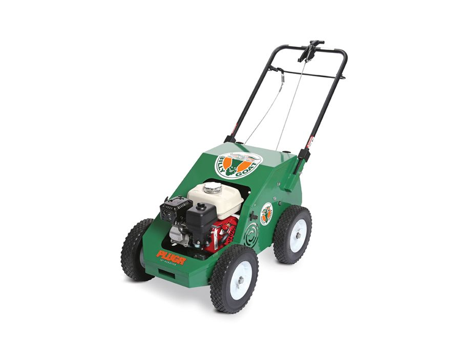 "illy Goat Reciprocating Aerator PL1800 18"" Wide with Briggs & Stratton Engine 205cc"
