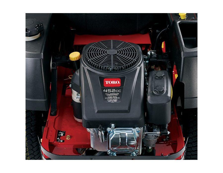 Powerful 452cc Toro Engine