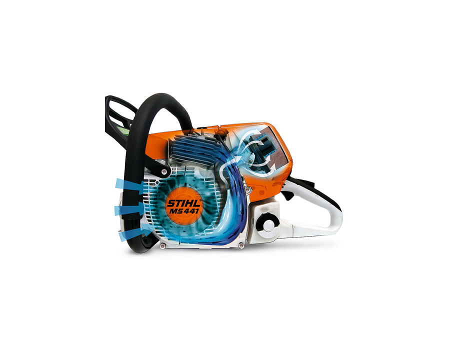 Tractors Air Filter Real Life : Stihl ms c m chainsaw with tronic cc