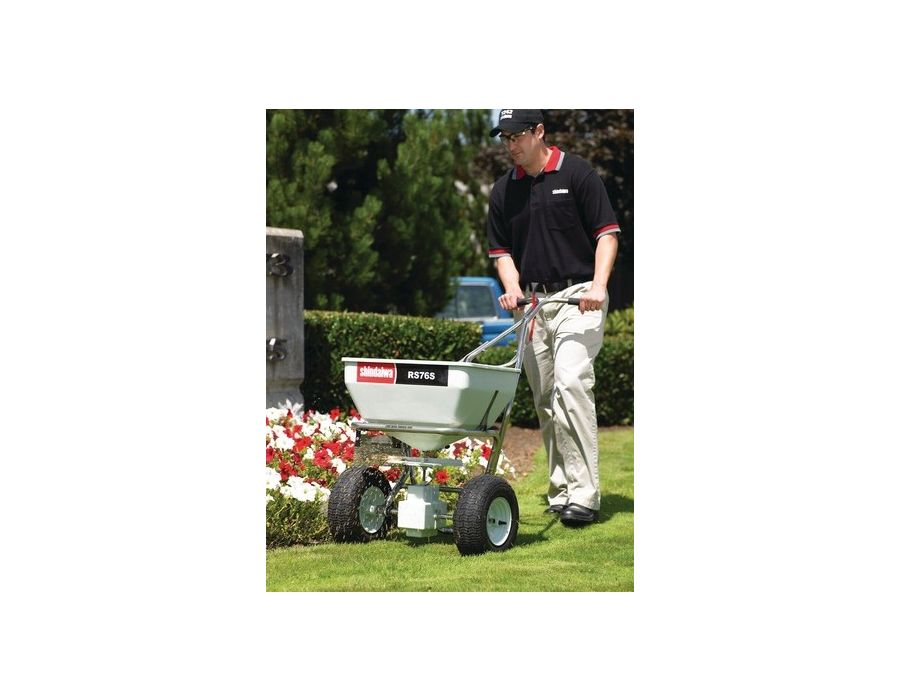 Shindaiwa RS76S Professional Spreader with Stainless Steel Frame