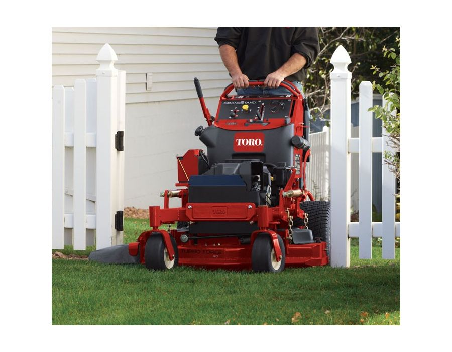stand-on mower productivity