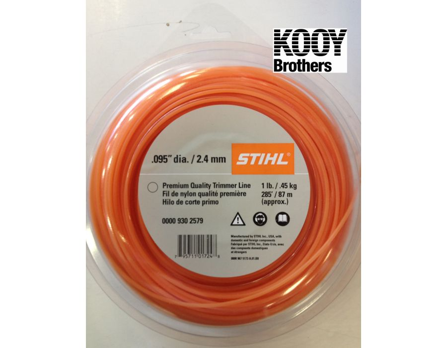 STIHL .95 trimmer line in a 1LB roll