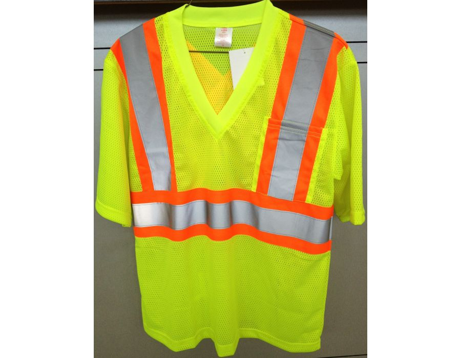STIHL lime green safety shirt
