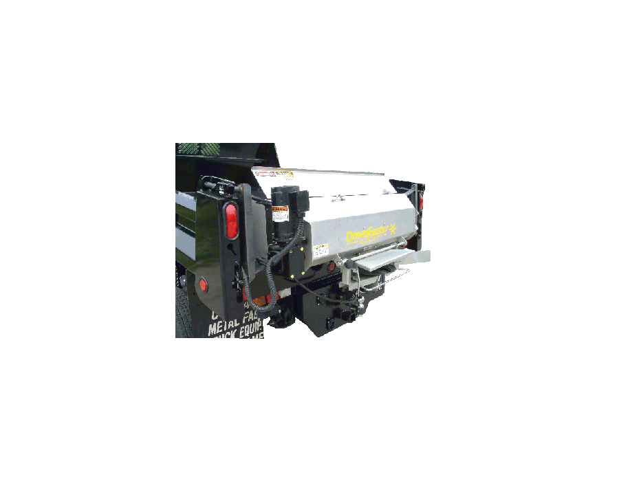 DownEaster IP-140 Tailgate Spreader for Pick-up Dump Inserts or 2-3 yard dump trucks