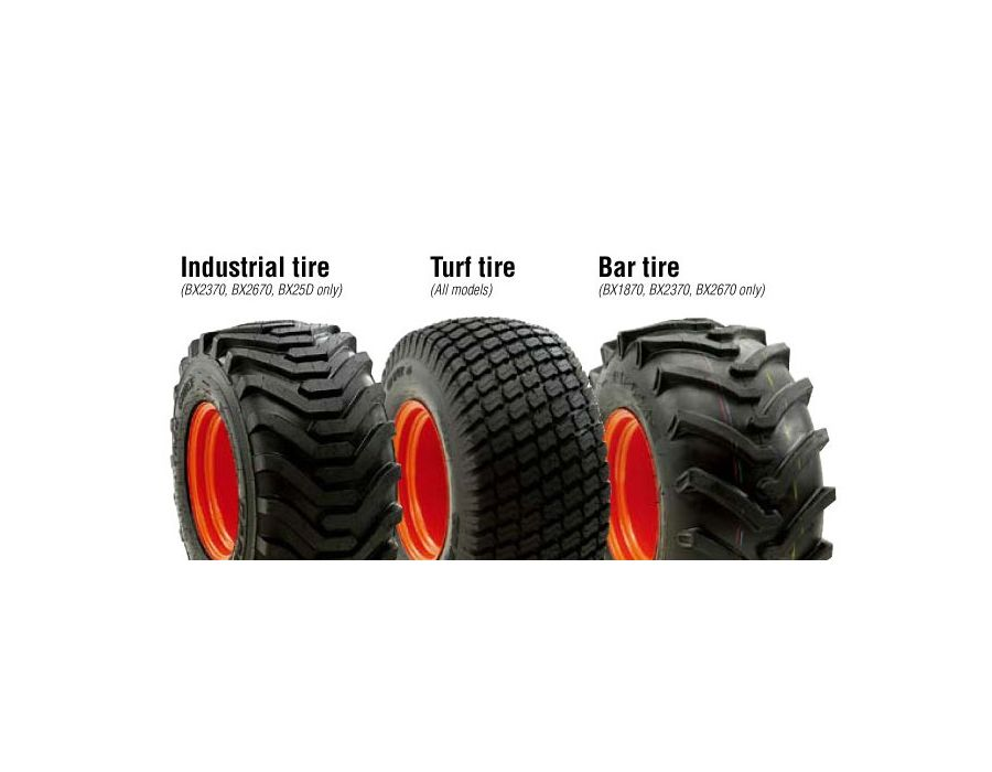 Available Tire Options