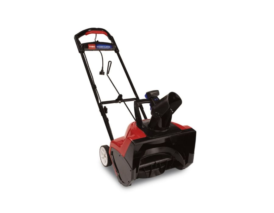 Toro 38381 Electric Snow Thrower 1800 Power Curve 18 inch width