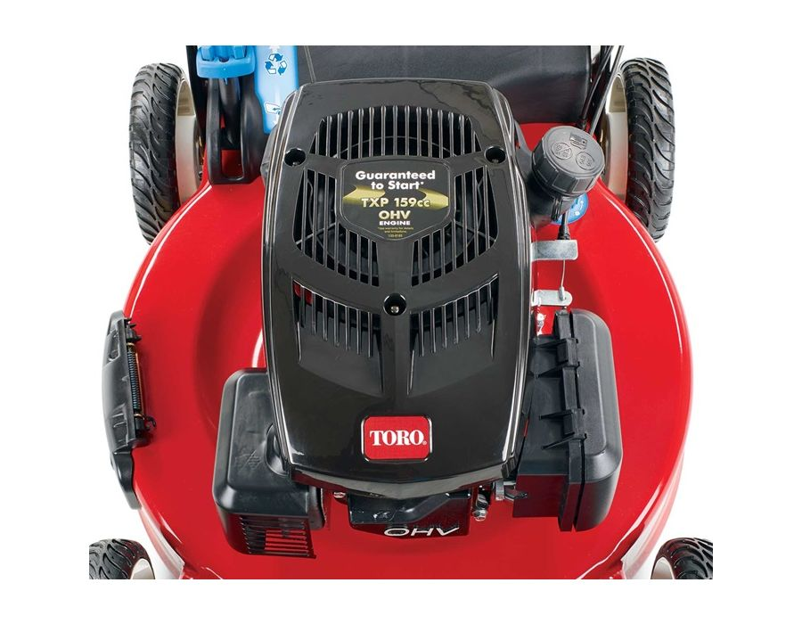 Toro TXP 159cc OHV Engine w/AutoChoke - Toro's premium overhead valve engine is powerful and efficient.