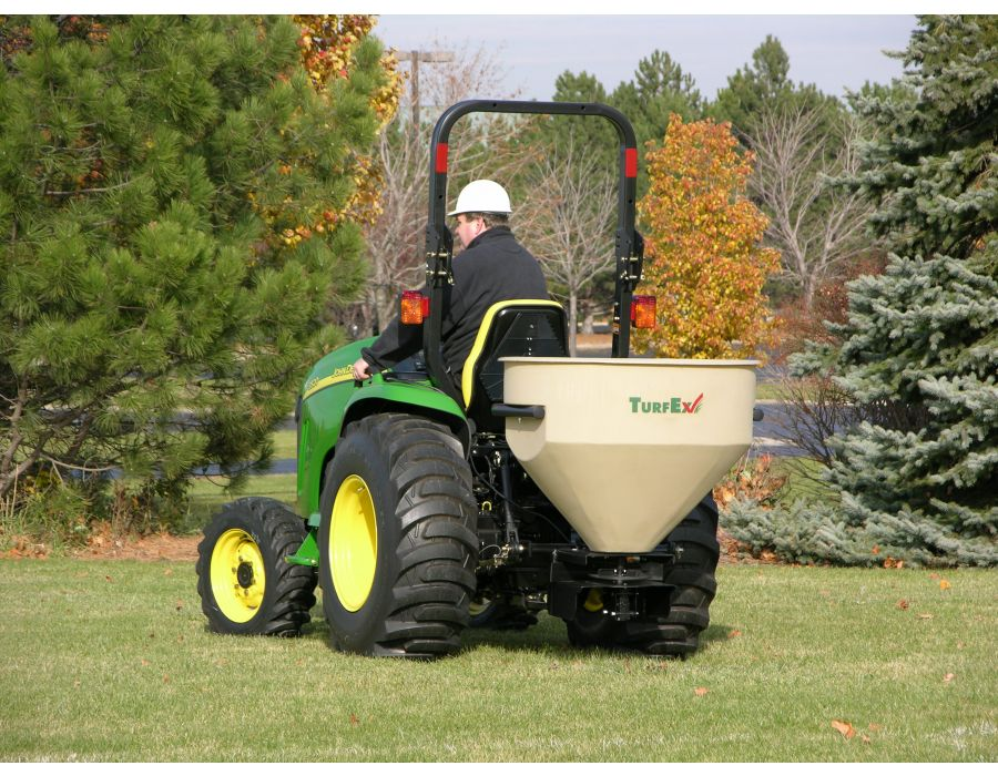 The TS1200P is an ideal option for mounting to compact tractors