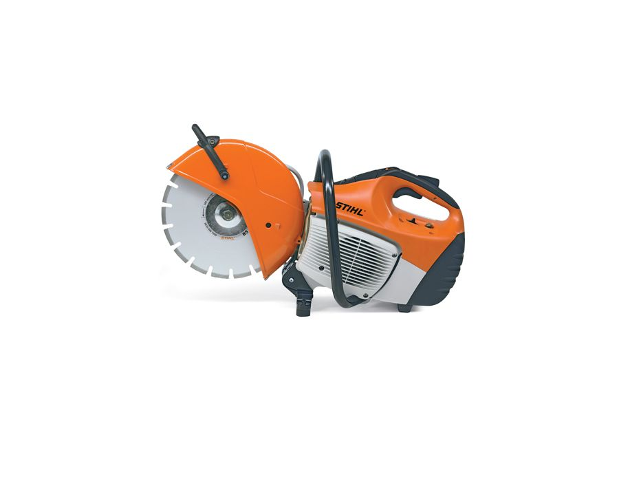 TS 410 STIHL cut-off saw - ergonomic handle design