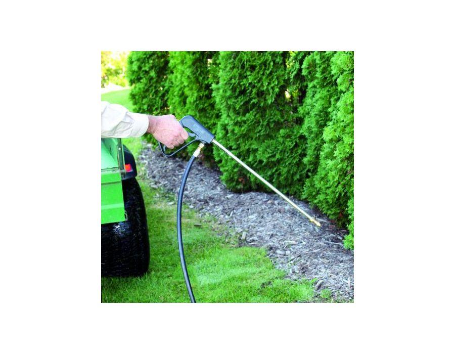 heavy-duty adjustable spray wand