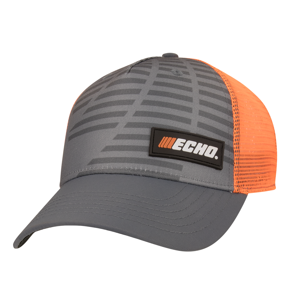 ECHO Cap, Grey/Orange
