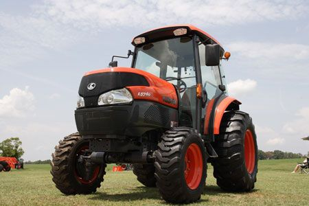 Kubota L4240HST with certified ROPS cab 42hp
