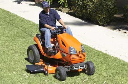 Kubota T2080 Lawn Tractor 20HP
