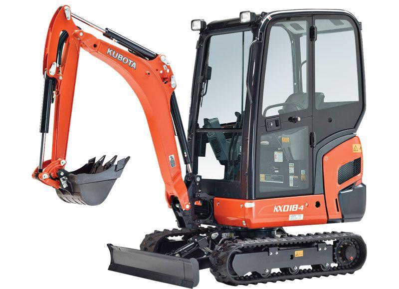 Kubota KX018-4 Excavator 1-2 Ton