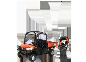 Kubota Toy Remote Controlled RTV-X1120D Utility Vehicle