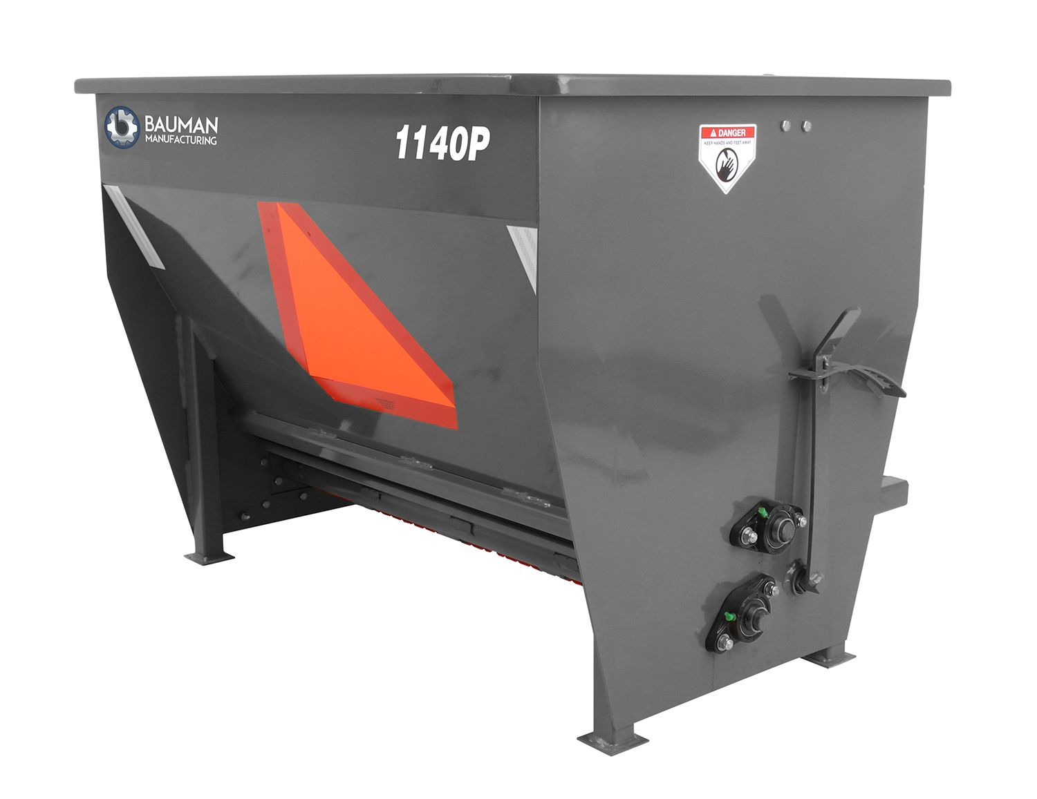 Bauman PTO Driven Sidewalk Drop Spreader