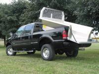 6.5 foot aluminum dump body for pick up truck