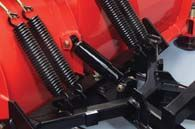 Four trip return springs help protect your plow and truck when striking an obstacle