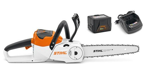 "STIHL MSA 120 C-BQ Lithium-Ion Battery Powered Cordless Chainsaw 12"" Bar"