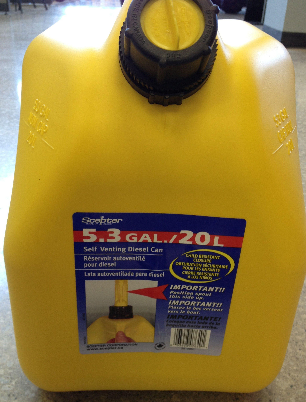 20L diesel gas can