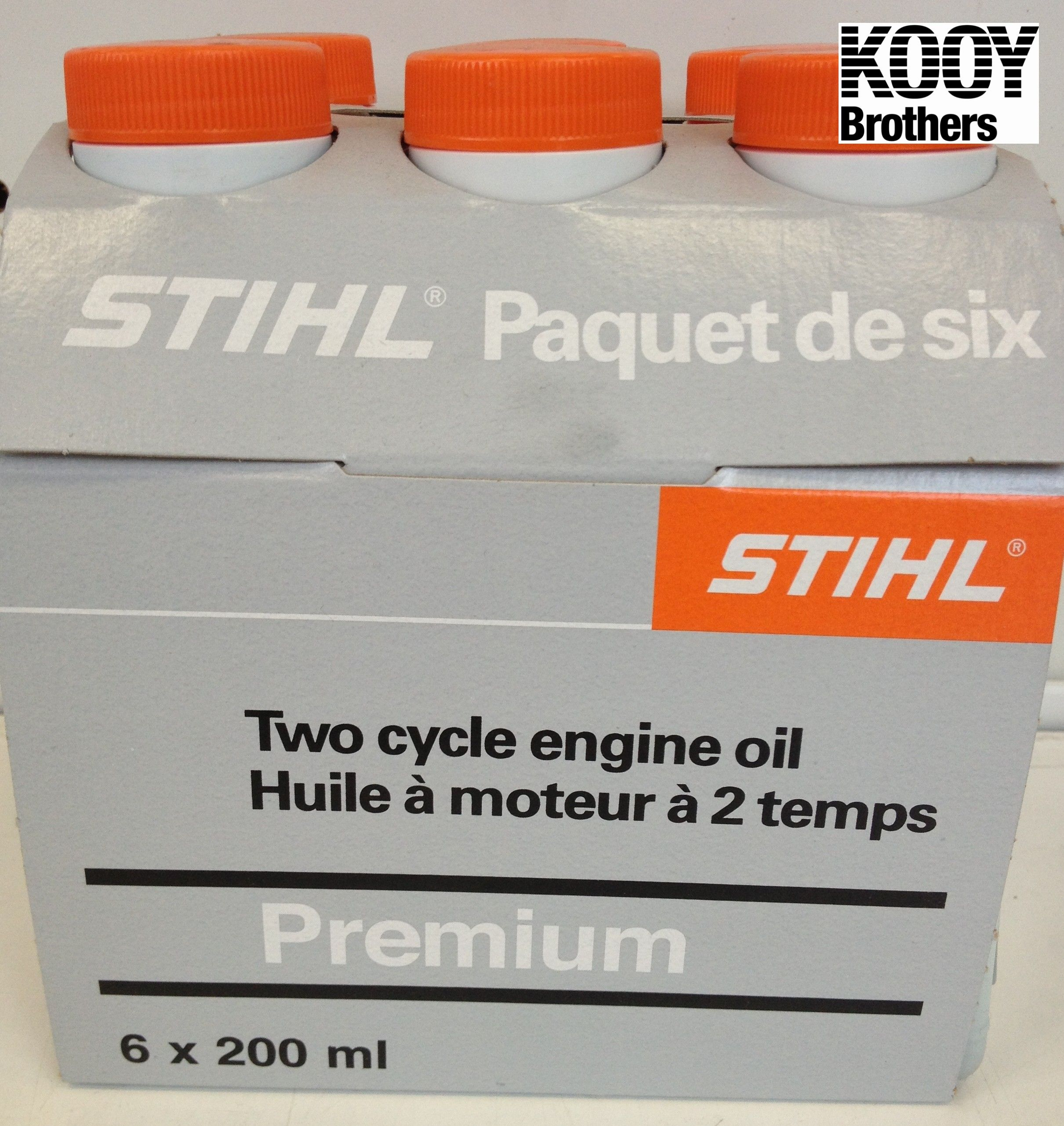 STIHL 6 pack of 200mL engine oil