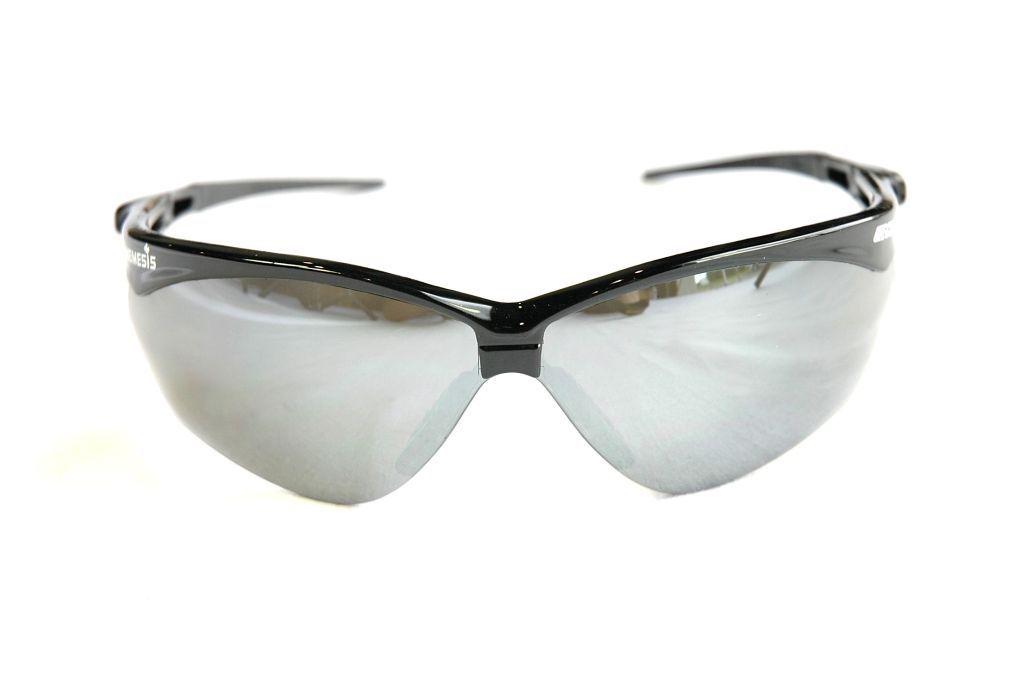 Echo Nemesis Safety Glasses Black/Smoke