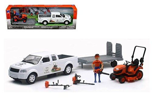 KUBOTA10 PIECE TURF TRUCK SET 1:20 SCALE