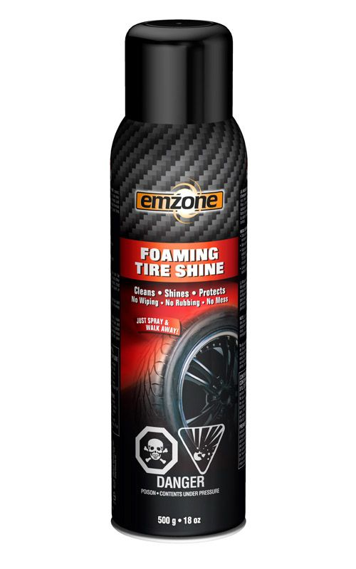 emzone Tire Shine Foam