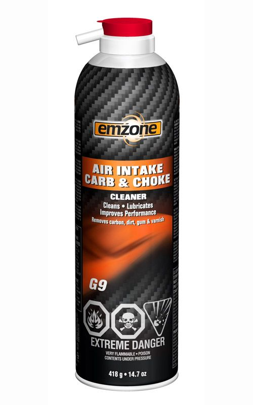 emzone Air Intake Carb & Choke Cleaner