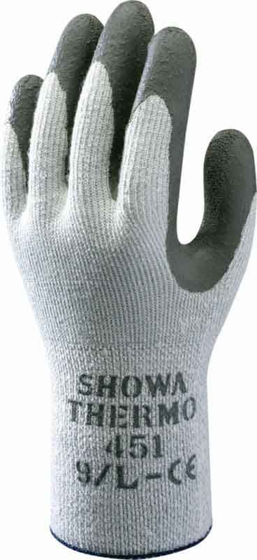 Flat dipped Natural Rubber-coated glove - ATLAS THERMAFIT 451