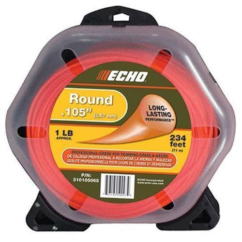 "ECHO .105"" Round Trimmer Line 1lb Roll"