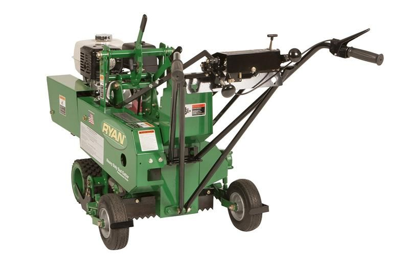 Heavy Duty-Sod Cutter Back Left Angle