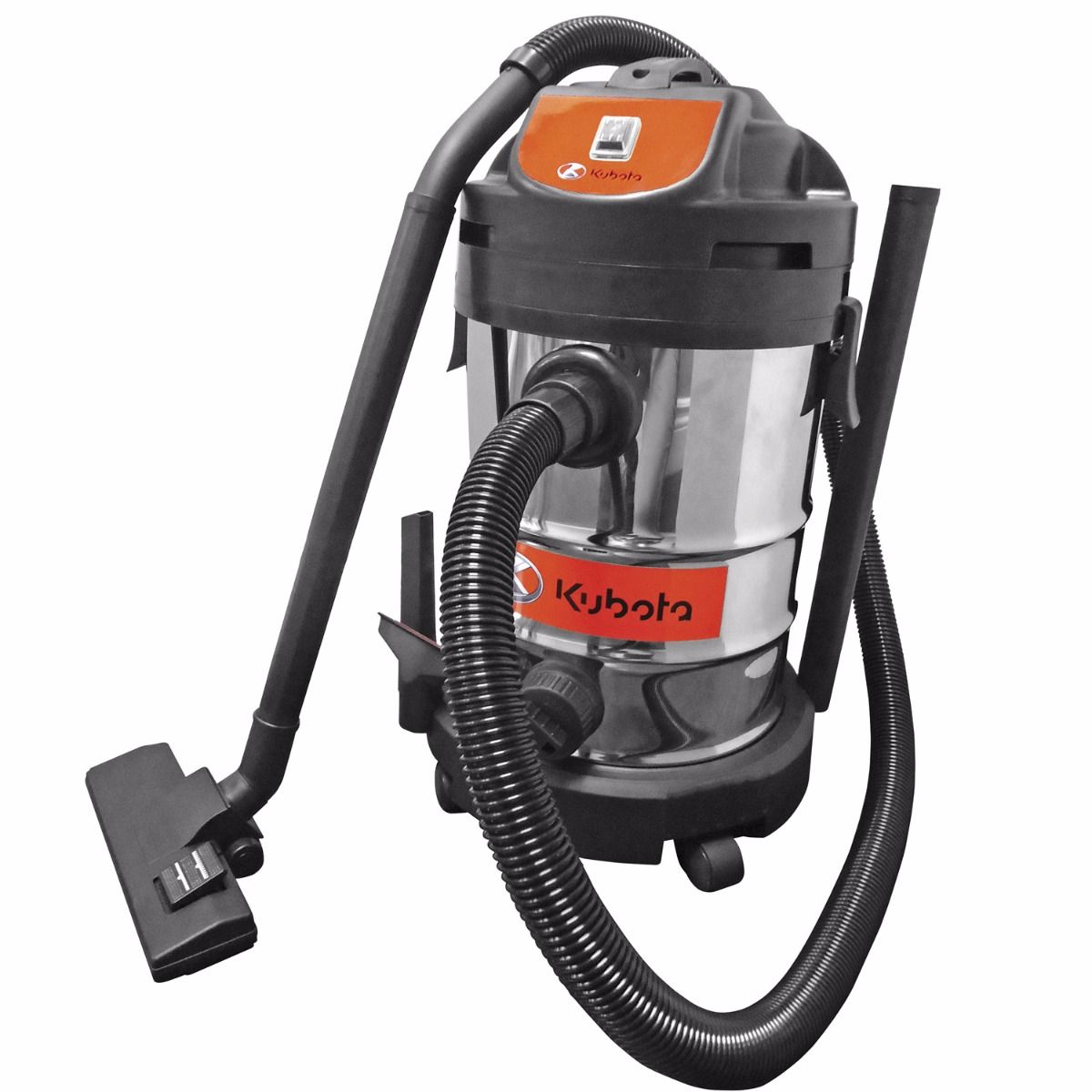 Kubota 8 Gallon Stainless Steel Vacuum