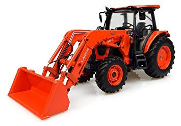 KUBOTA M9960 TRACTOR W/LOADER DIE CAST 1:32 SCALE