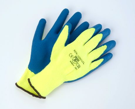 Hi-Viz Rubber Winter Glove