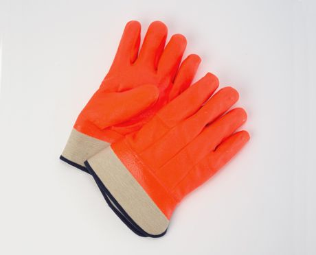 Foam Insulated Orange T-Foam Safety Gloves