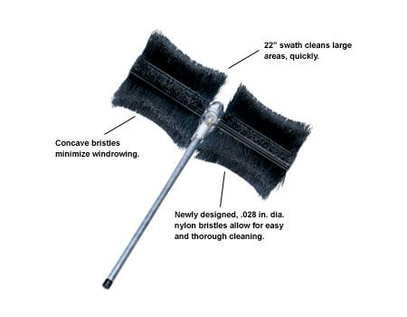 ECHO Bristle Broom Attachment 999442-00553